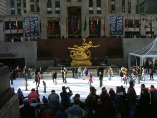 Rockefeller Center Ice Skating Rink opens today!