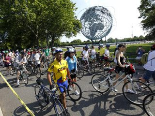 Queens Bike Ride NYC