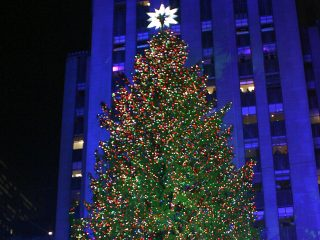 Christmas Tree Lighting in Rockefeller Center
