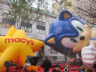 Macy's Thanksgiving Day Parade Inflation