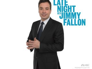 Jimmy Fallon filming