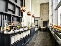 Enjoy an elevated breakfast buffet in The Atrium at Revere Hotel Boston Common