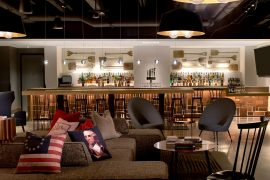 Revere Hotel Lobby Bar - Relax and enjoy a drink after a day exploring Boston
