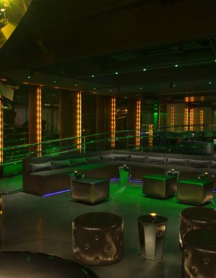 Interior View of the Emerald Lounge