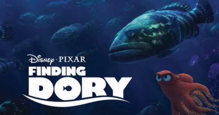 Finding Dory Dive-In Movie at the Sports Club Pool