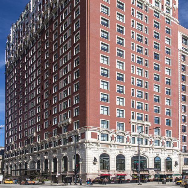 The Blackstone Exterior During Day