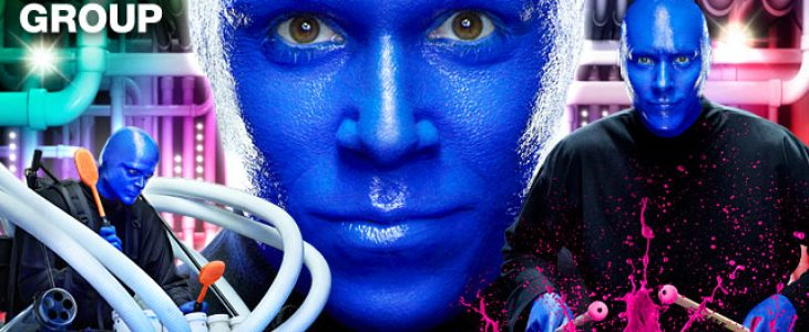 blue man group event near Inn at Longwood Medical