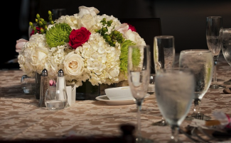 wedding flower table arrangements