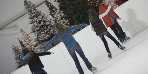 Verizon Wireless Ice Skating Rink