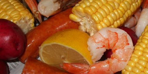 Low Country Boil at Sunset Cove