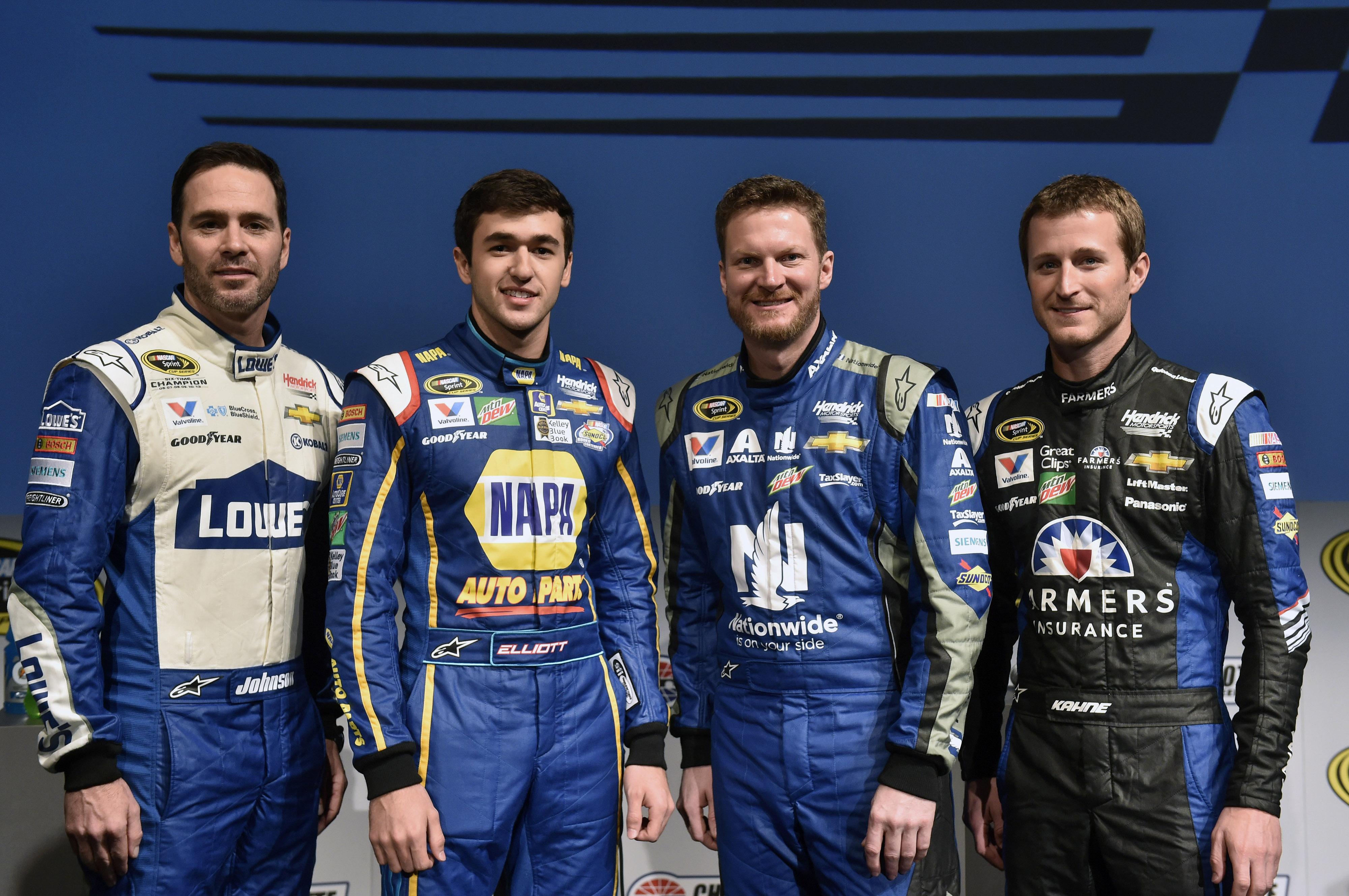 2017 NASCAR Sprint Cup Series schedule released   Hendrick Motorsports