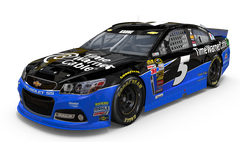 No. 5 Time Warner Cable Chevrolet SS
