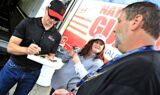 Fan Fest, rain headline Thursday at Daytona