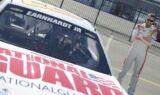 Dale Earnhardt Jr. in the NASCAR shoot