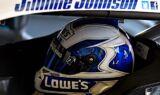 Jimmie Johnson, No. 48 team at Kansas