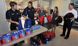 McGrew, team help Blessings in a Backpack