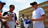 Hendrick Motorsports fans at the racetrack
