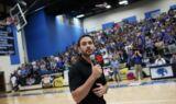 Texas high school toasts Johnson