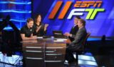 Jeff Gordon visits ESPN