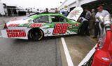Testing at Daytona Speedway