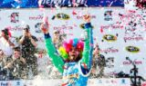 Johnson wins at Dover