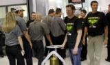 Earnhardt continues Victory Bell tradition