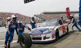 Dale Earnhardt Jr.'s No. 88 team at Loudon