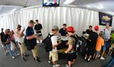 Hendrick Motorsports drivers at Chevy Day