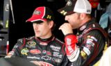 Jeff Gordon and the No. 24 team at Chicagoland