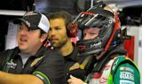 Dale Earnhardt Jr. and the No. 88 team at Loudon