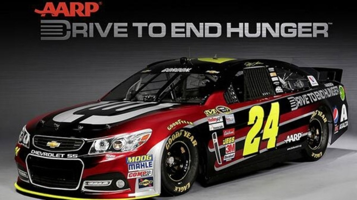 AARP Foundation unveils 2014 No. 24 Drive to End Hunger Chevrolet SS