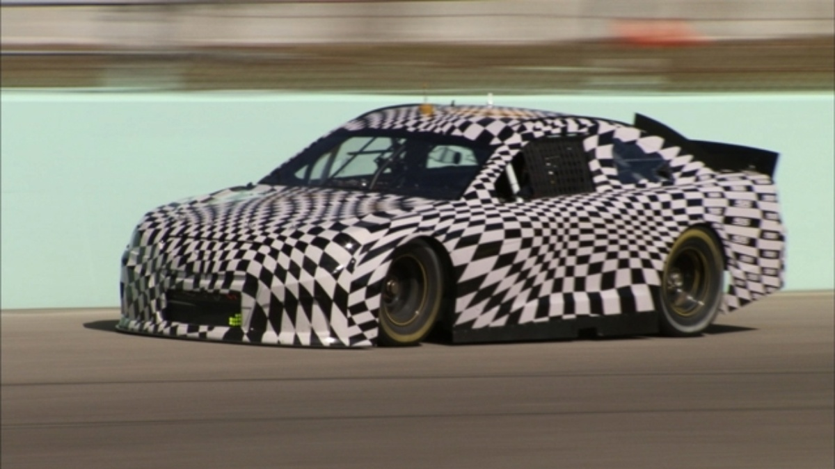 Chevrolet's new SS performance sedan will compete in 2013 Cup season