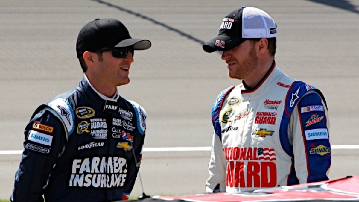 Dale Earnhardt Jr. and Kasey Kahne ready to rock at Richmond