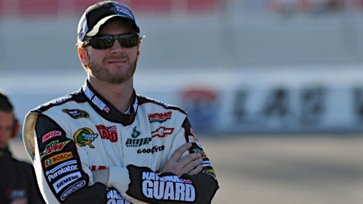 Earnhardt: Experience is nice, but luck sometimes better at Talladega