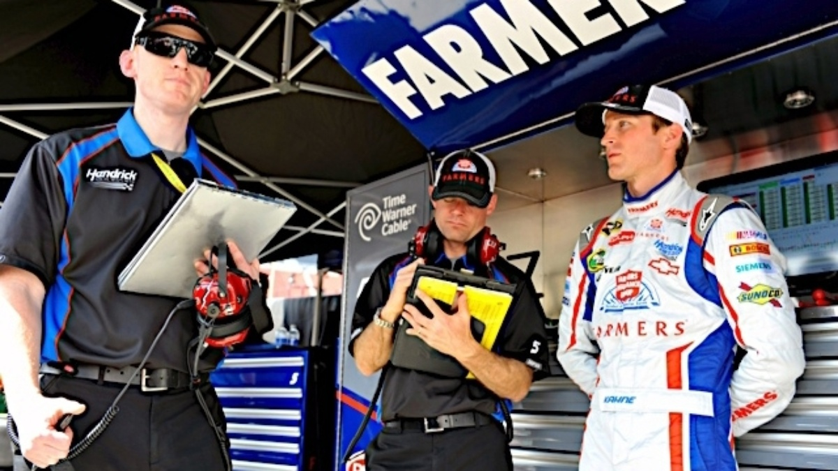 Getting to know Keith Rodden, race engineer for the No. 5 Chevy