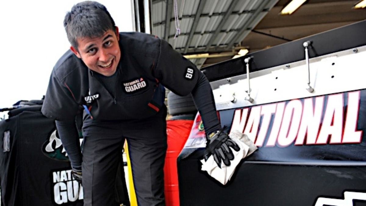 Getting to know Matt Todd, mechanic for the No. 88 Chevrolet