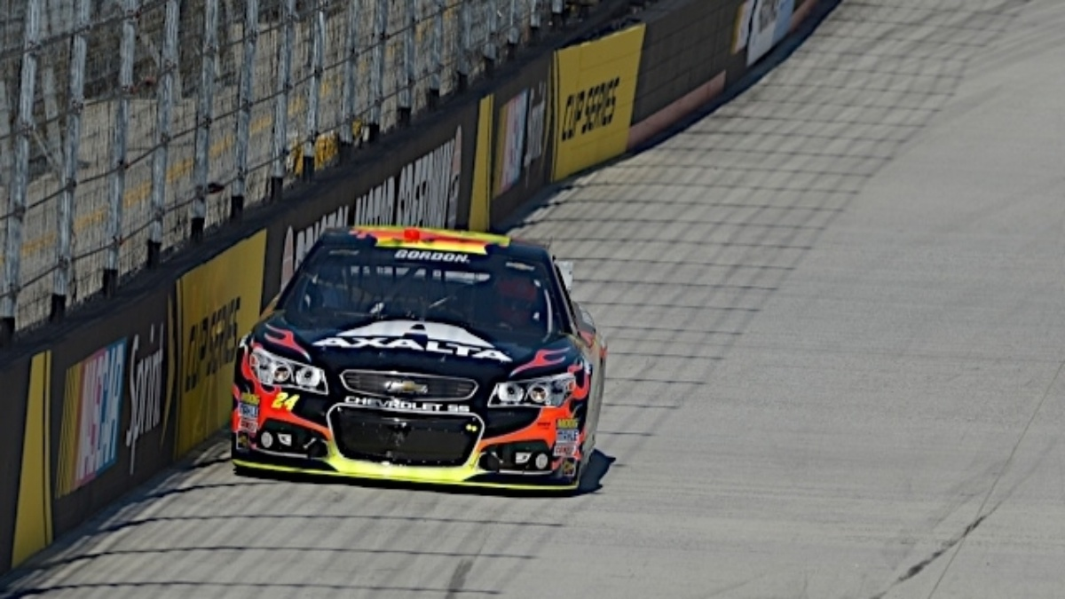 Gordon, Kahne, Johnson and Earnhardt qualify in top 14 at Bristol