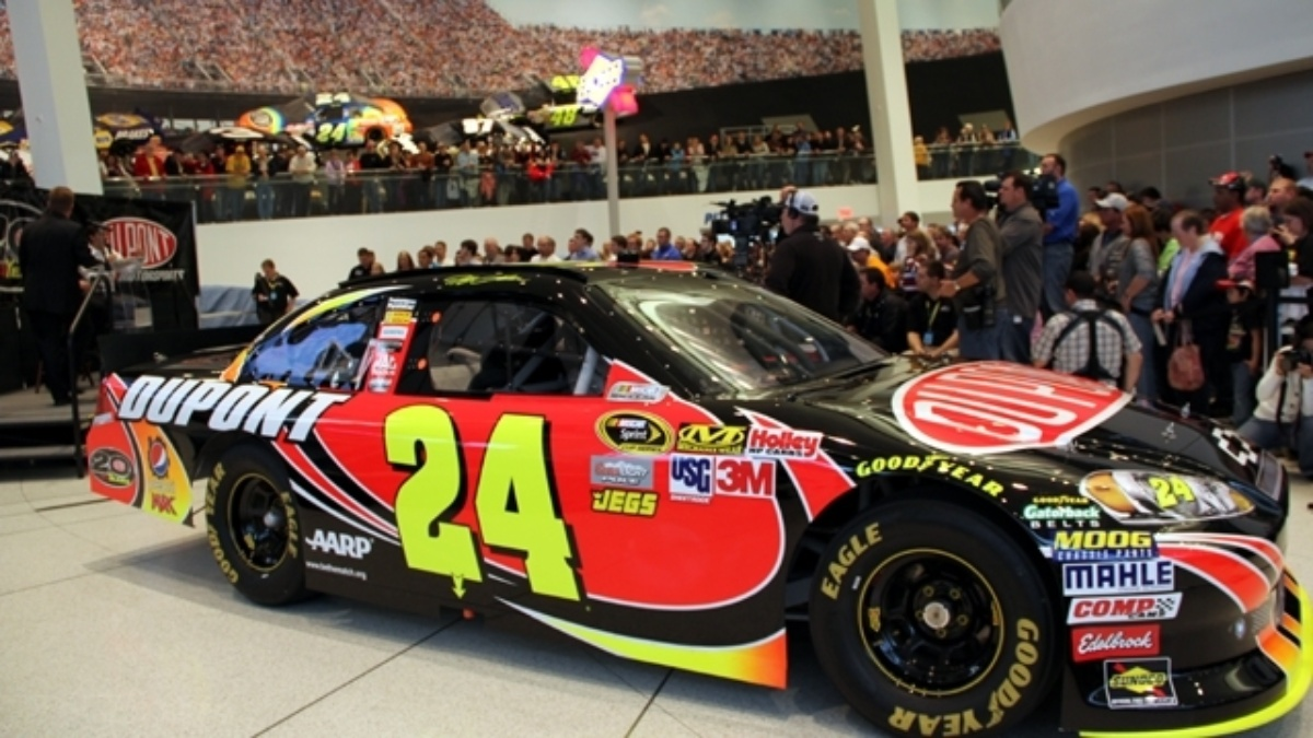 Gordon unveils 2012 No. 24 DuPont Chevrolet
