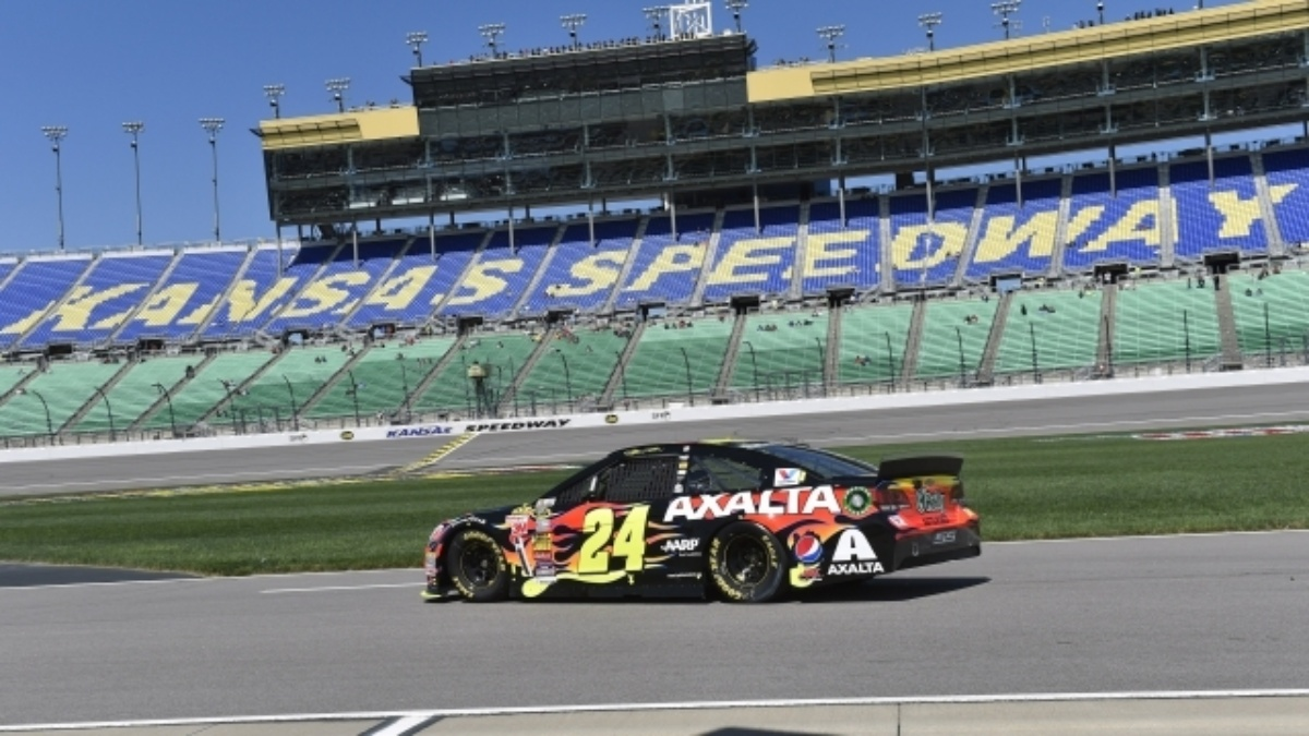 Hendrick Motorsports qualifying report from Kansas