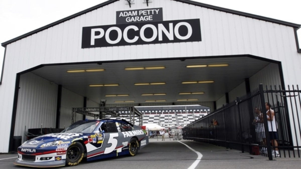 Hendrick Motorsports trio qualifies in top 10 at Pocono