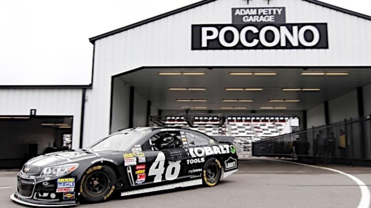 Jimmie Johnson wins, Dale Earnhardt Jr. finishes third at Pocono