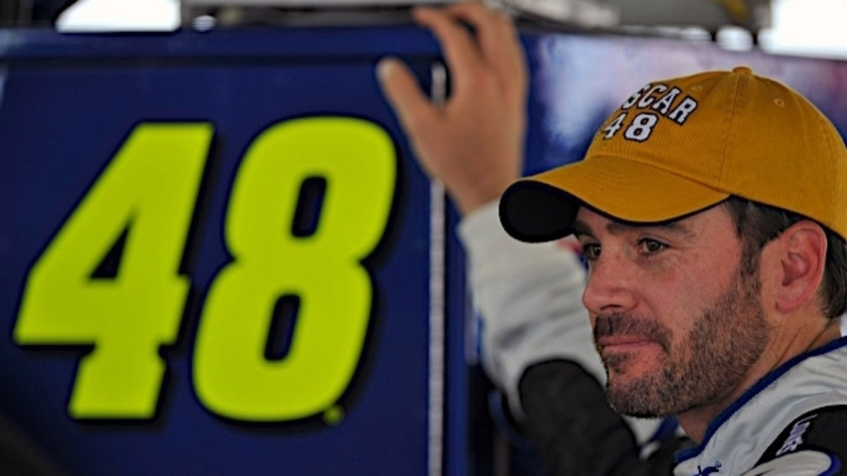 Johnson's Cup reign pondered at Chase media day