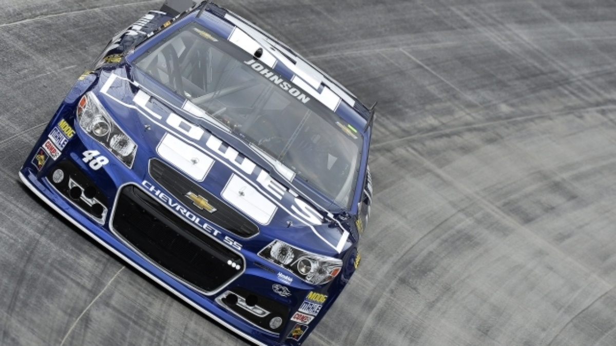 Johnson's top-five finish paces Hendrick Motorsports at Bristol