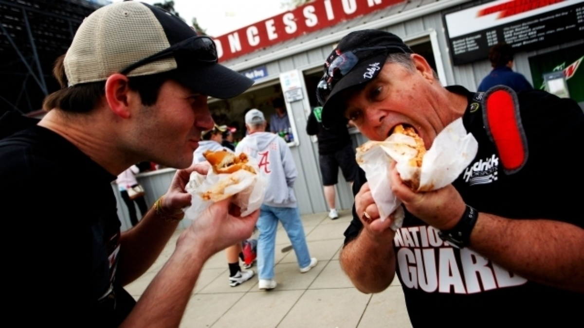 Martinsville Speedway is bringing hot dogs for this Friday's Hendrick Motorsports Fan Fest