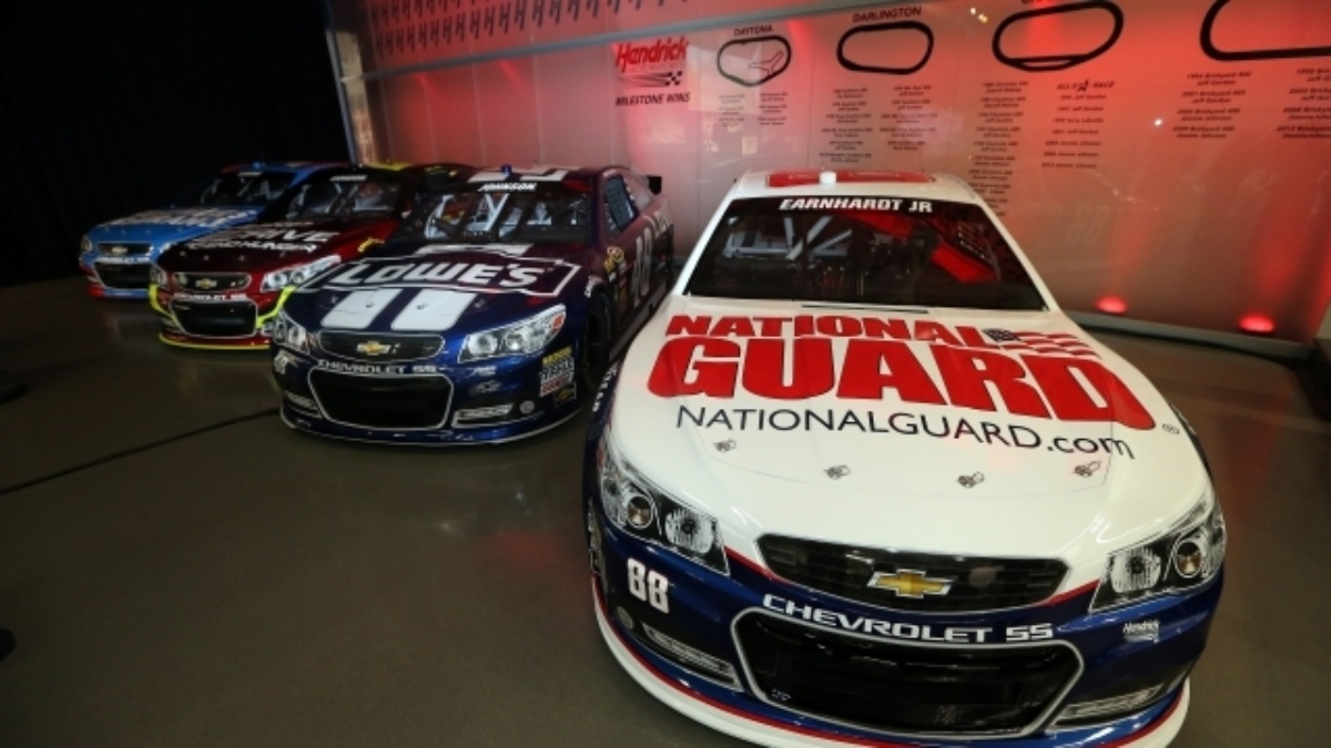 #MediaDayLive at Hendrick Motorsports