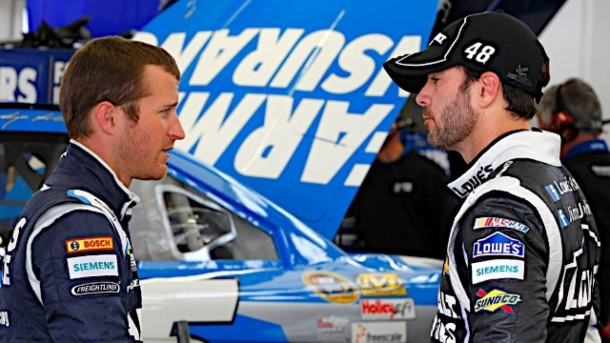 Rain cancels qualifying, Hendrick Motorsports teammates in top 12 by 2012 points
