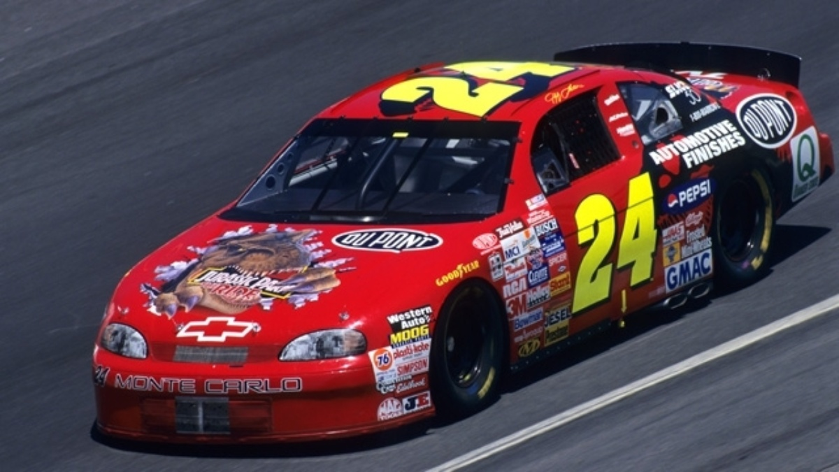 Chevy Homestead T-Rex, 'Days of Thunder' Chevys on display at NASCAR Hall ...