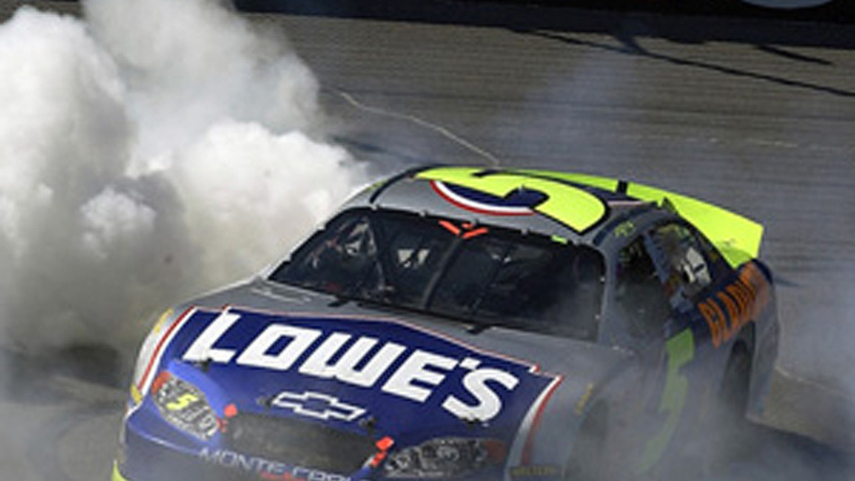 Busch Wins Fifth Race of 2004 at Michigan
