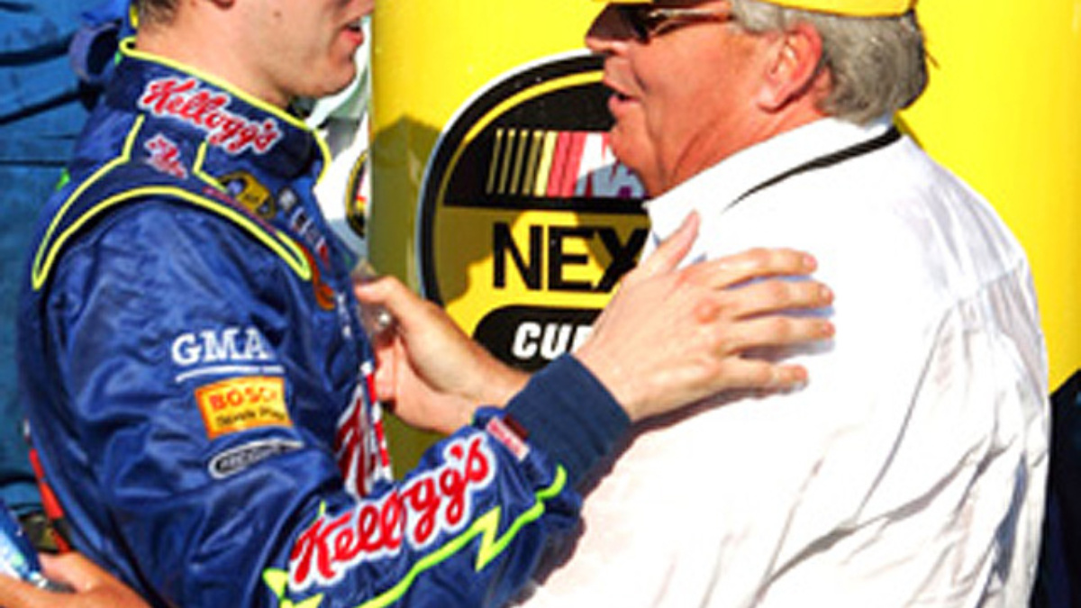 Busch is Best at New Hampshire