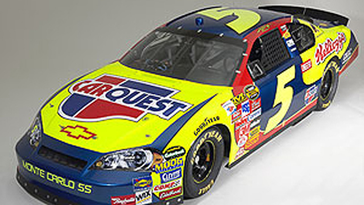 CARQUEST Joins No.5 Chevrolet as Co-Primary Sponsor in 2007